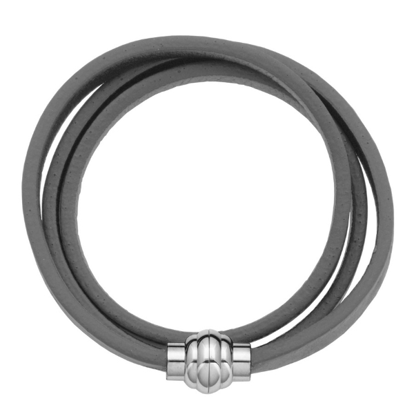 UNisex Leather Wrap Bracelet